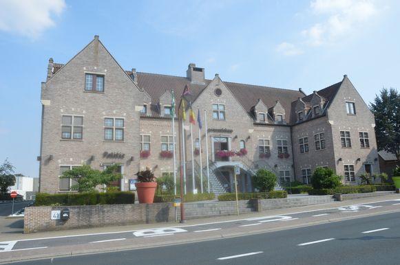 Het gemeentehuis van Haaltert.