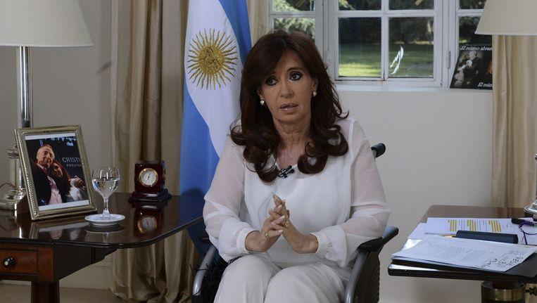 Cristina Fernandez de Kirchner. Beeld reuters