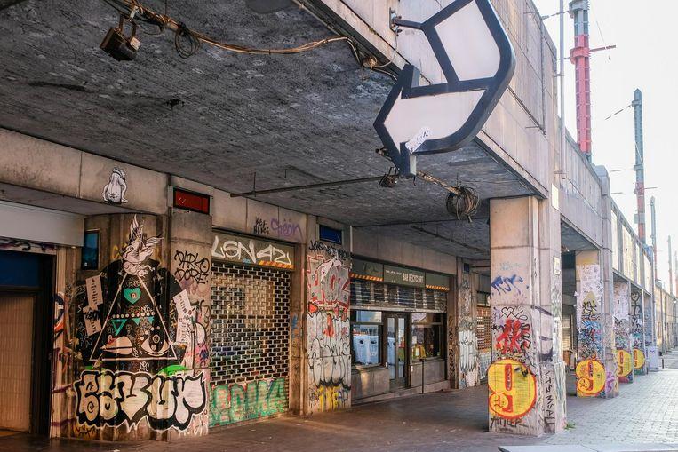 De stad zal de ruimte onder het station het komende jaar stevig onder handen nemen.