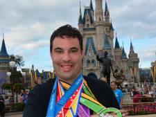 Van park naar park in Disneyworld Orlando: Christiaan uit Halsteren rent 78 kilometer in vier dagen