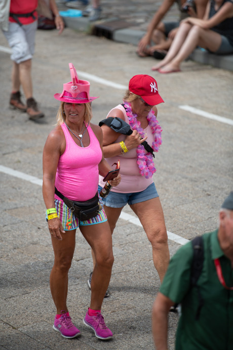 Deelnemer Vierdaagse mag er niet té sexy bijlopen