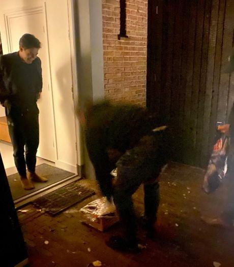 In quarantaine zittende Jetten (D66) wil thuis met rust gelaten worden en keurt 'ongewenst huisbezoek' boeren af