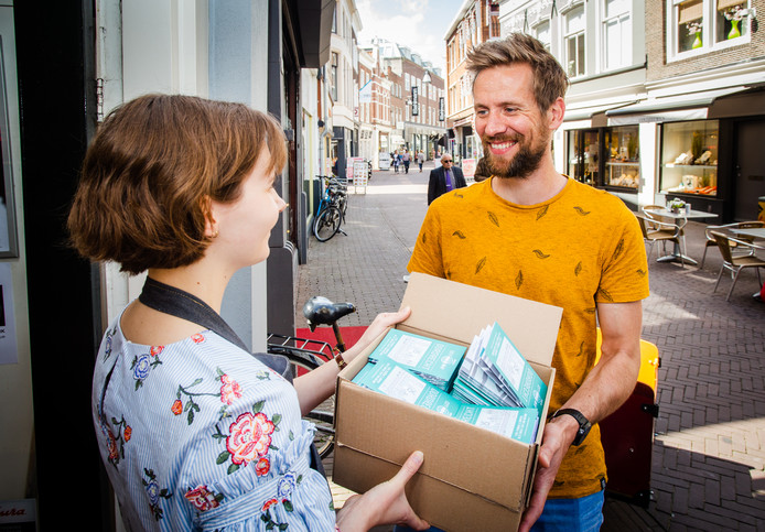 Frank van Hilten blies de Citymap van To Do in Dordt nieuw leven in.
