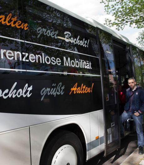 Bussen rijden vanaf april tussen Bocholt en Aalten; chipproef op stations Elten en Emmerich laat op zich wachten