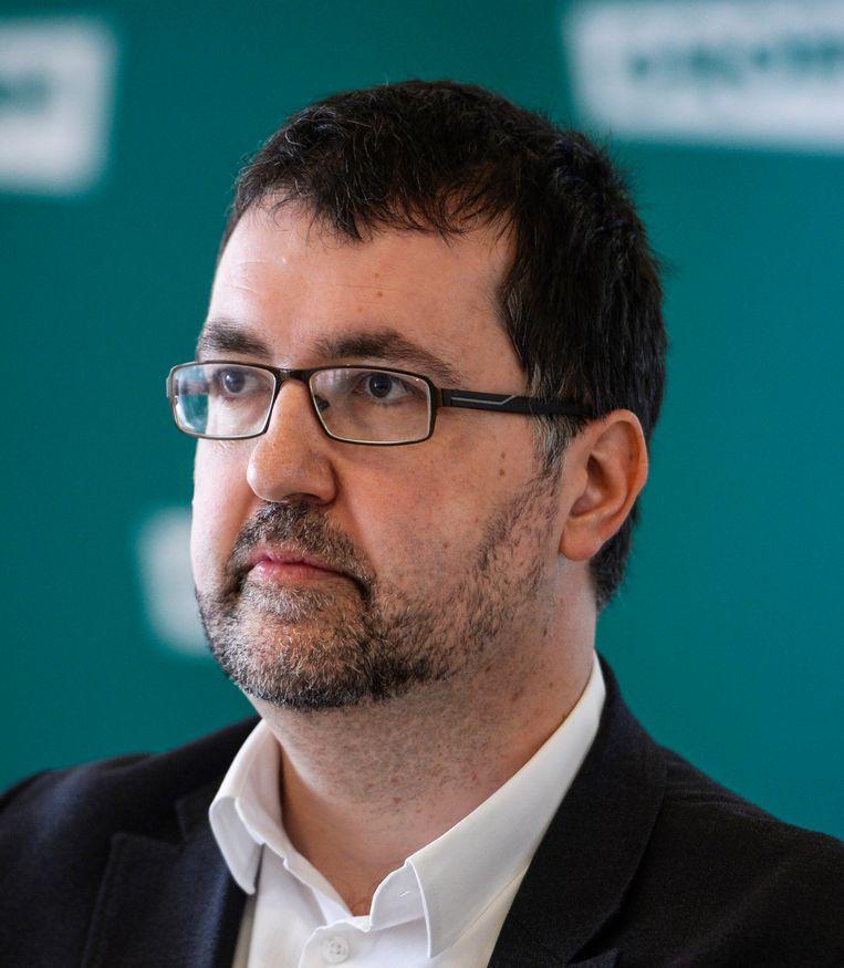 Groen-voorzitter Wouter van Besien