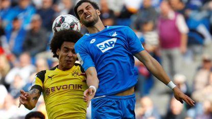 Witsel en Dortmund pakken met z'n tienen puntje in Hoffenheim