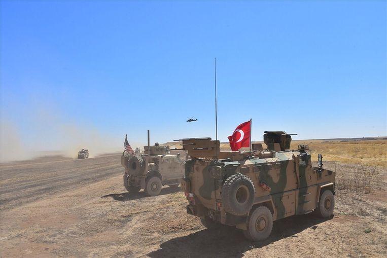 Archiefbeeld. Tell Abyad en omgeving staan onder controle van de Syrische bondgenoten van Turkije