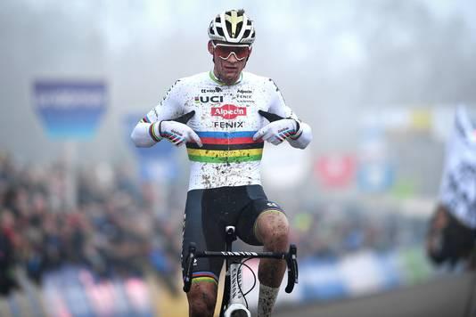 Mathieu van der Poel gaat in februari voor zijn derde wereldtitel.