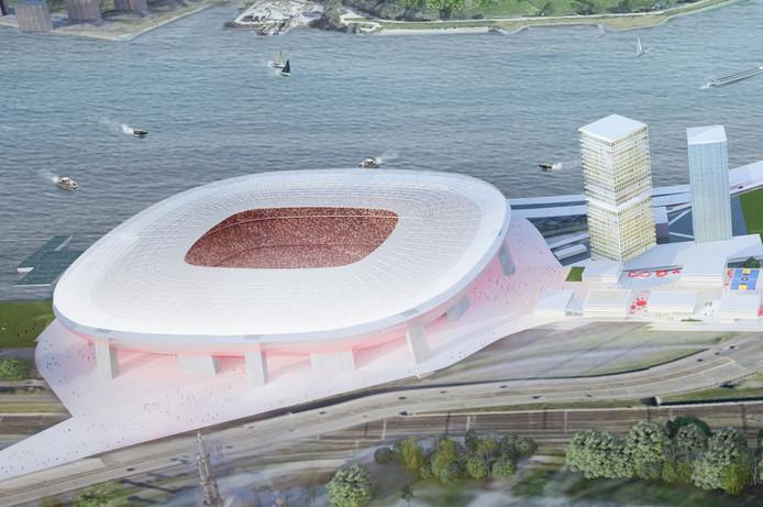 De tegenstanders van de plannen ruiken kansen nu het verzet tegen de bouw van het nieuwe stadion groeit.
