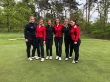 Dames Eindhovensche Golf willen           graag de kampioensduik maken