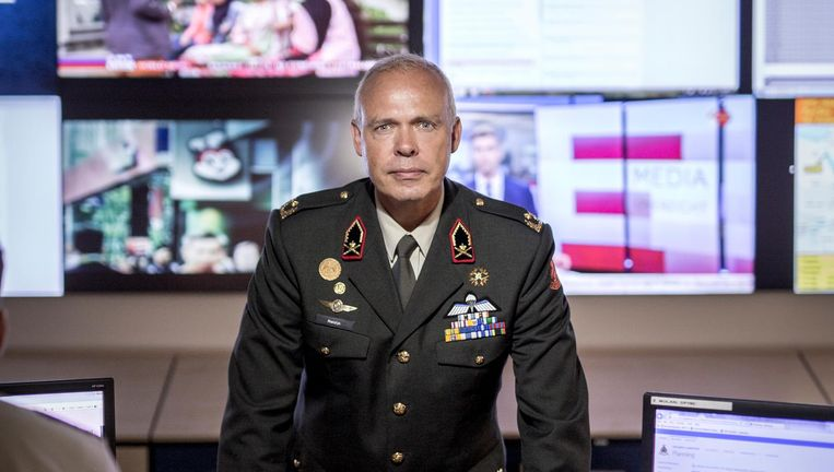 Wilfred Rietdijk, brigadegeneraal Beeld Mike Roelofs