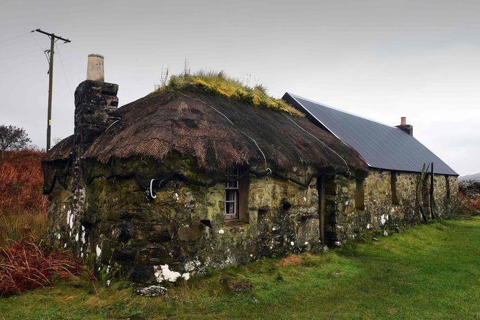 Een traditioneel huis op Ulva | ANDY BUCHANAN