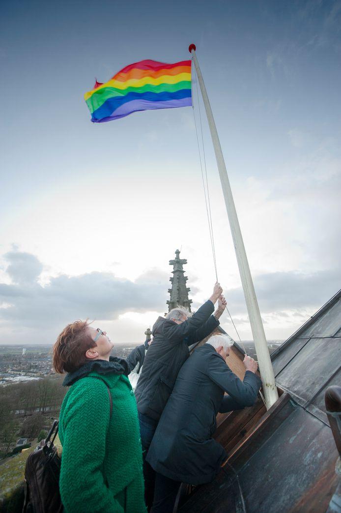 Zelfs in het christelijke Zaltbommel werd afgelopen week de regenboogvlag gehesen. Uden moet niet achterblijven vindt de fractie GroenLinks.