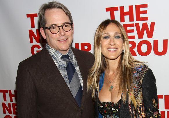 Matthew Broderick met zijn echtgenote Sarah Jessica Parker.