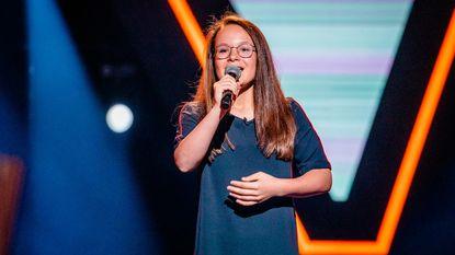 Tweede keer, goed keer voor Emma (12) in 'The Voice Kids'
