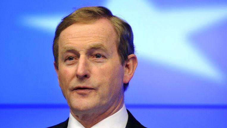 De Ierse premier Enda Kenny. Beeld AFP