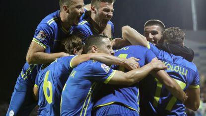 Ook dít is de Nations League: dolle taferelen bij allereerste zege ooit voor Kosovo