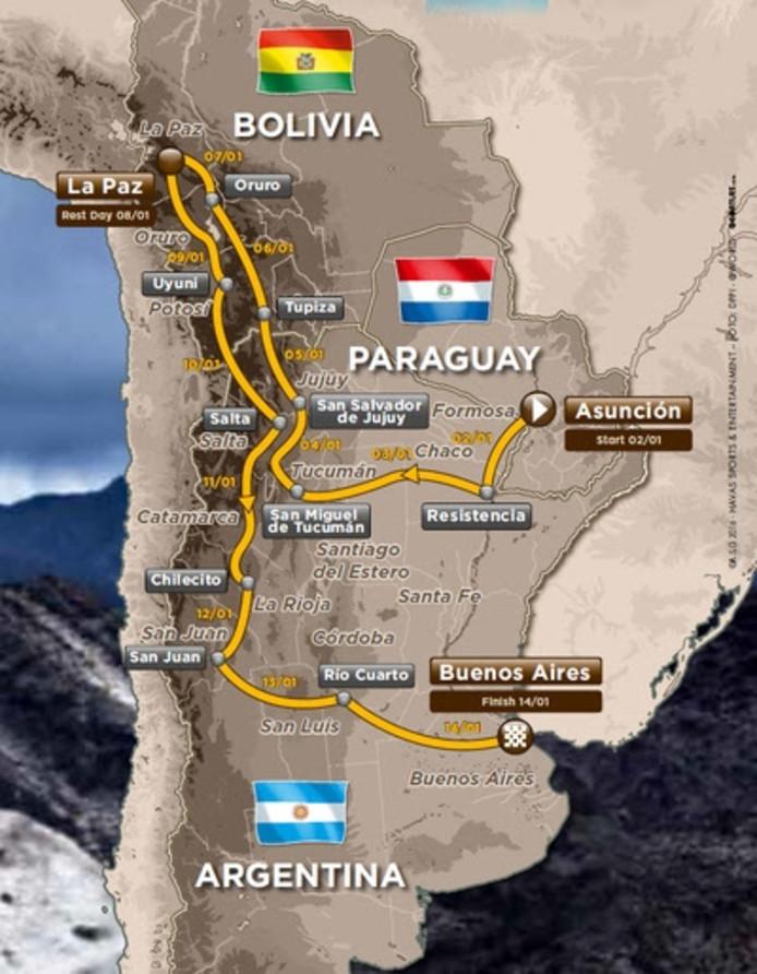 Route Dakar