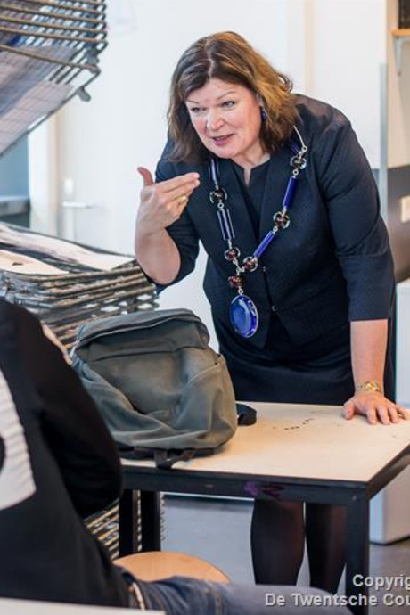 Burgemeester Wilmien Haverkamp van Tubbergen vindt voorlopig alles leuk aan haar werk