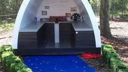 Herdenkingskapel voor overleden hondjes