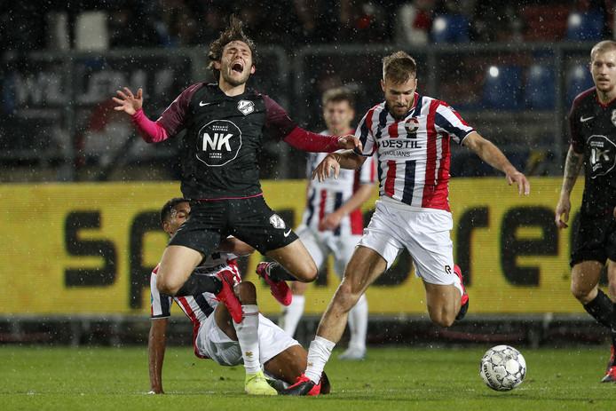 Bart Nieuwkoop (Willem II, rechts)