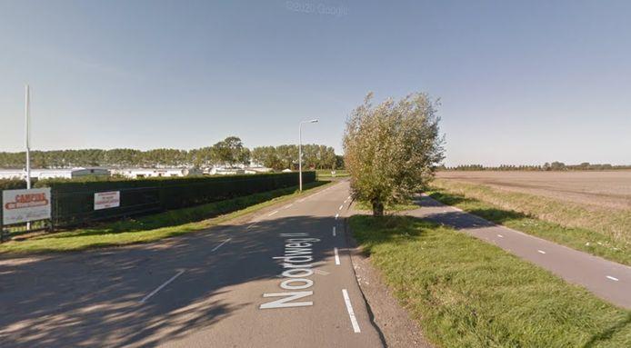 De Noordweg II en Havendijk bij Groede zijn te smal voor het vele verkeer richting Waterdunen en worden daarom verbreed.