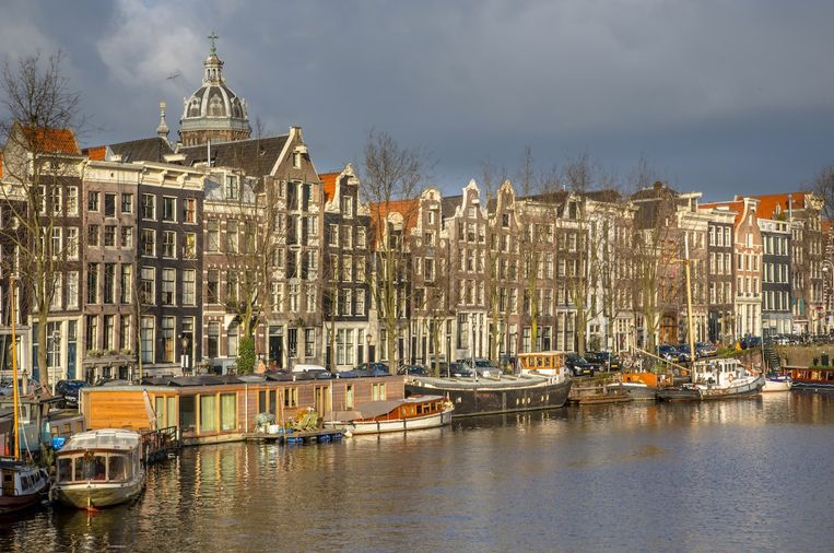 De Kromme Waal in Amsterdam Centrum. Beeld Shutterstock