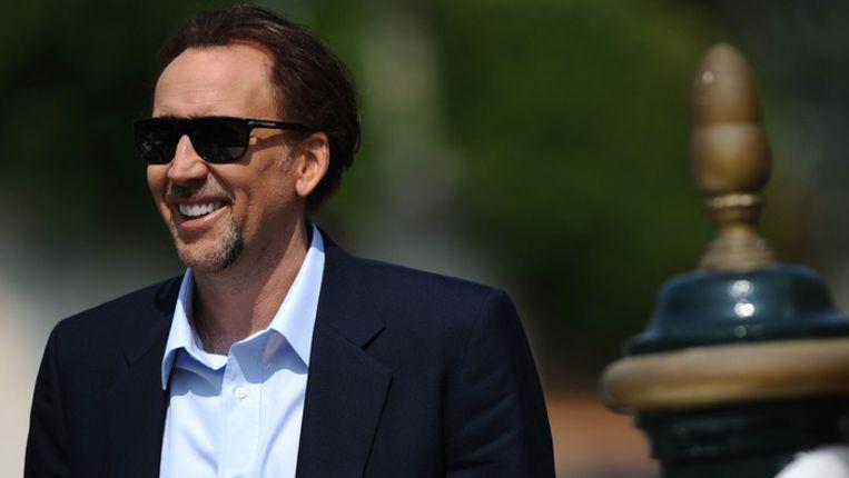 Nicolas Cage Beeld AFP