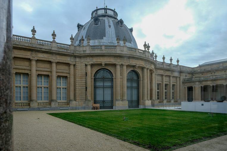 Opening Afrika Museum: Binnenplaats van het museum.