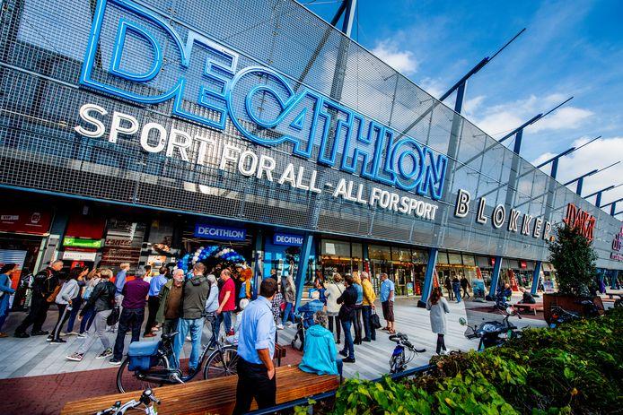 Decathlon is wel in Rotterdam gevestigd.