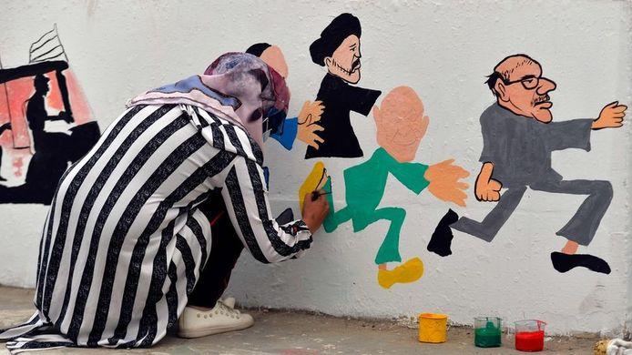 Al maandenlang is er een opstand gaande tegen de regering in Irak. Ook vrouwen laten van zich horen. Middels kunst op straat in Bagdad wordt hun rol in de protesten gevierd.