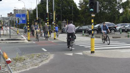 Kruispunt Grotesteenweg-Singel wordt veiliger voor fietsers en voetgangers