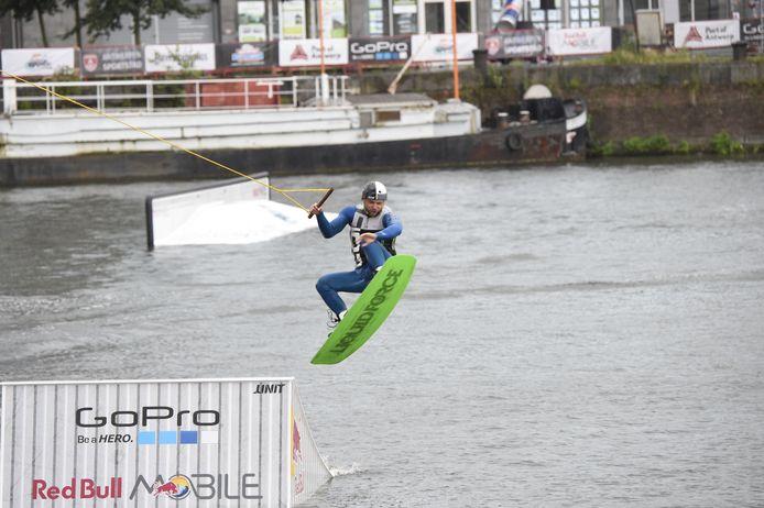 Antwerpen wakeboarden mas foto Dirk Laenen