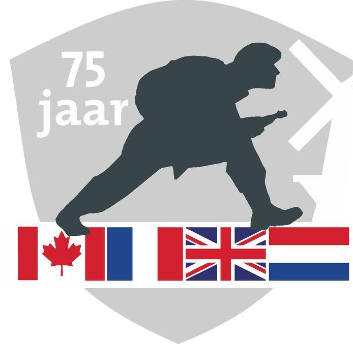 Logo Vlissingen 75 jaar Slag om de Schelde