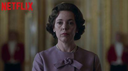 TRAILER. Netflix opent paleisdeuren met nieuwe beelden van 'The Crown'