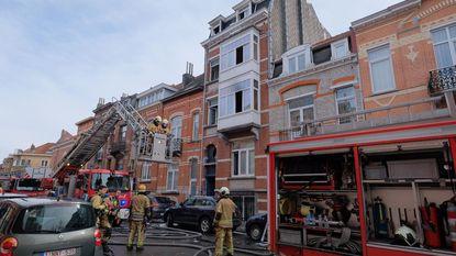 Huurder sterft in appartementsbrand