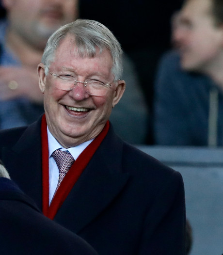 Ferguson even terug in dug-out Manchester United