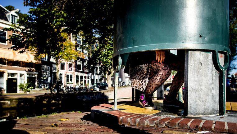 Plaskrul op het Amstelveld Beeld ANP