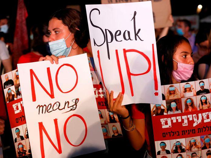 De verkrachting veroorzaakte een golf van verontwaardiging in Israël en leidde tot demonstraties.