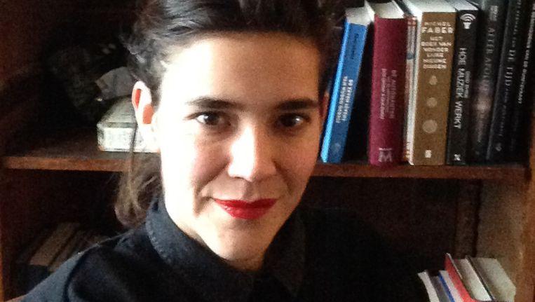 Theatermaker Anne Maike Mertens. Beeld