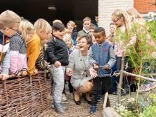 Leerlingen De Casembroot razend enthousiast over Natuurtuin