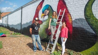 Yellow Brick Road viert vijfde verjaardag en maakt nieuw graffitiwerk in Rumst