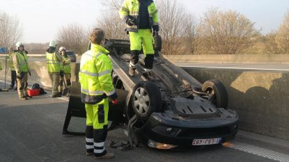 Lichtgewond na crash