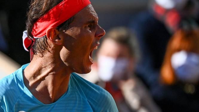 Op naar nummer 13: gravelkoning Nadal staat in finale Roland Garros na winst tegen kranige Schwartzman
