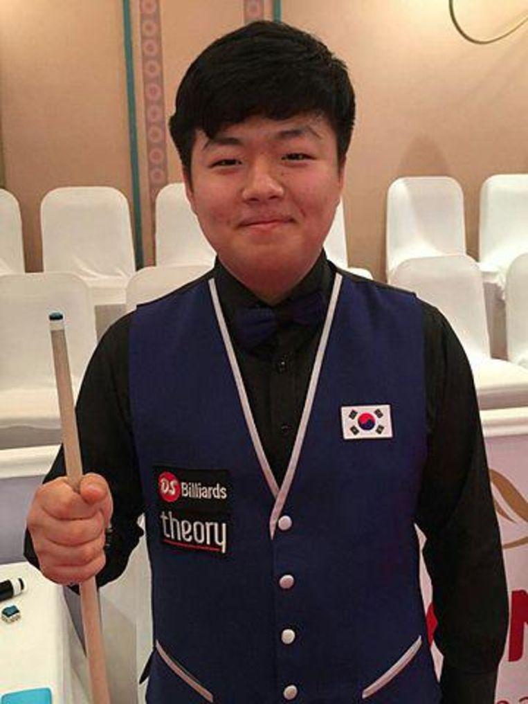 Cho Myung-Woo uit Zuid-Korea. Beeld