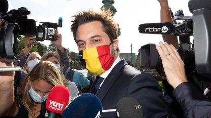 MR-voorzitter Bouchez ziet twee grote raakpunten tussen liberalen en groenen