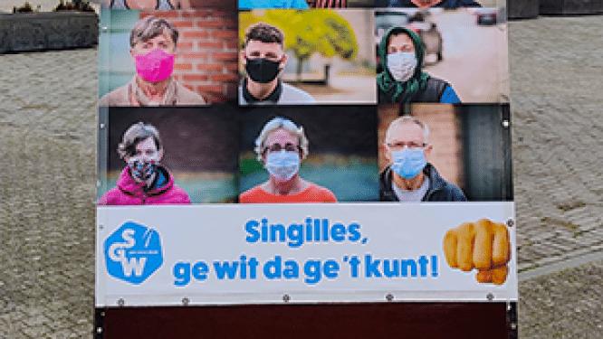 """""""Inwoners moed geven in moeilijke tijden"""": gemeente plaatst banners met boodschap 'Ge wit da ge 't kunt'"""