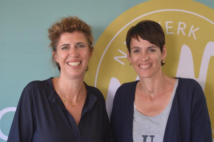 Miranda van den Broek en Saskia van Loon.