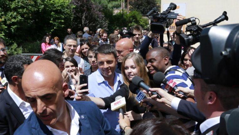 Matteo Renzi. Beeld null