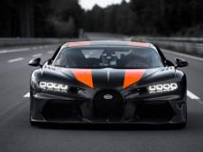 Wereldrecord! Deze Bugatti rijdt 490 kilometer per uur